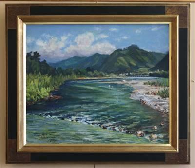 夏の吉野川